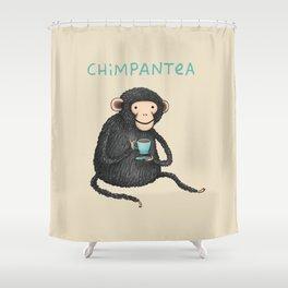 Chimpantea Shower Curtain