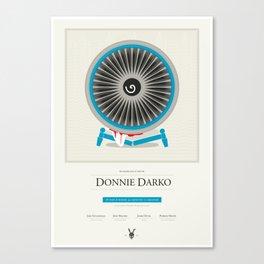 Donnie Darko Spoiler Poster Canvas Print