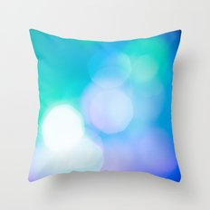 Bokeh II Throw Pillow