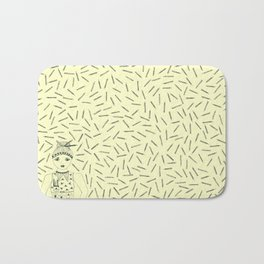 Can I 'PENCIL' you in for a date? Bath Mat
