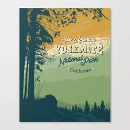See America – Yosemite National Park Canvas Print