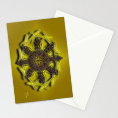 Abstract X Eight Stationery Cards