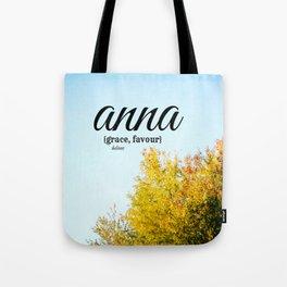 Anna Grace Tote Bag