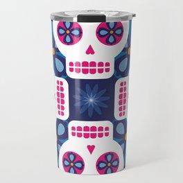 Talavera Blue Travel Mug