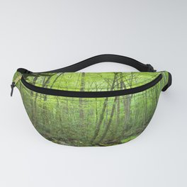 Spring Forest Stream Fanny Pack