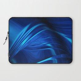 Dark Blue Abstraction Laptop Sleeve