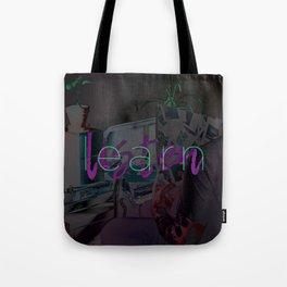 Learn / Listen Tote Bag