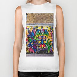 Breath Color (Color) Biker Tank