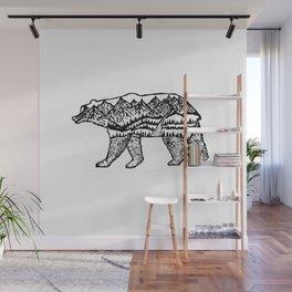 Bear Necessities Wall Mural