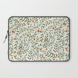 Oranges Foliage Laptop Sleeve