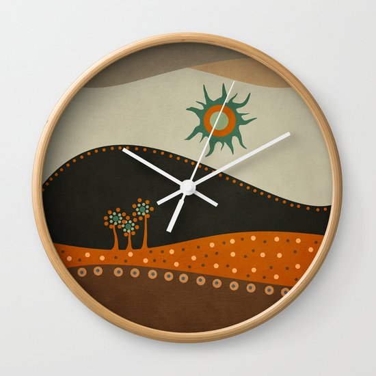 Sweet. Land. Wall Clock