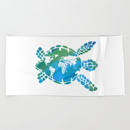 Mother Earth II Beach Towel
