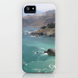 Big Sur Cali waters iPhone Case