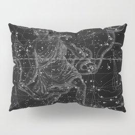 Celestial Map print from 1822 Pillow Sham