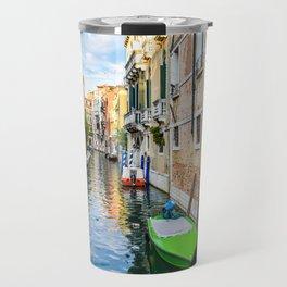 Watery Streets Venice, Italy Travel Mug