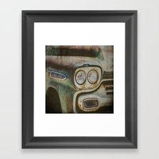 Chevy Apache Framed Art Print