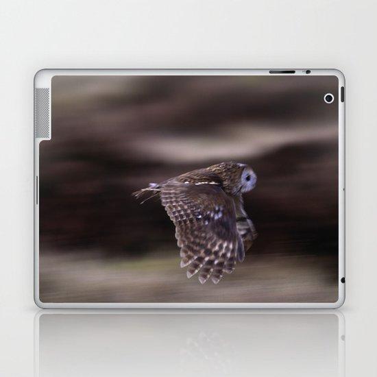 TAWNY OWL FLIGHT Laptop & iPad Skin