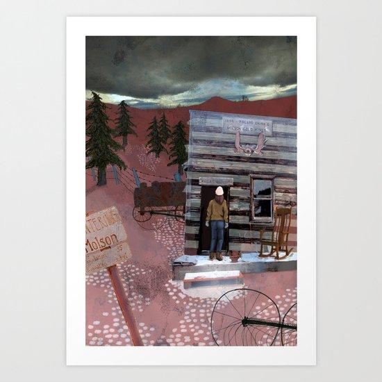 Molson Art Print