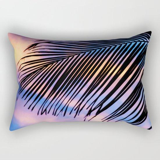 SUNSET PALM Rectangular Pillow