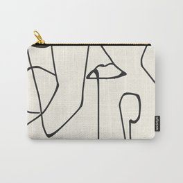 Abstract line art 36 Carry-All Pouch