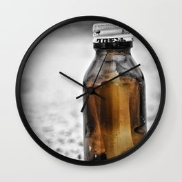Message in a bottle Read and set free Never to be trapped again Our dreams of you and me Wall Clock