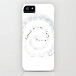 InternalGrowthLastForever iPhone Case