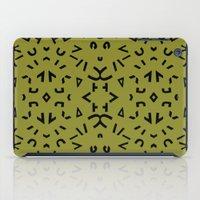 alphabet iPad Cases featuring Alphabet by Chelsea Densmore