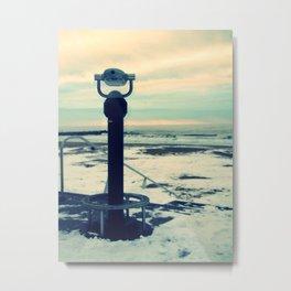 Cold View Metal Print