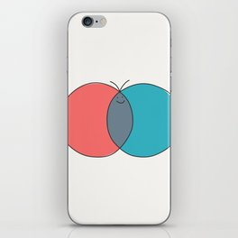 Butterfly Diagram iPhone Skin
