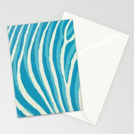 Artistic Zebra Pattern #1 Stationery Cards