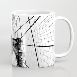 Brooklyn Bridge Web Coffee Mug