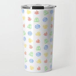 Element Symbols Travel Mug