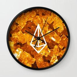 Jasper Candy Gem Wall Clock