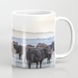 Good Morning Cows Coffee Mug