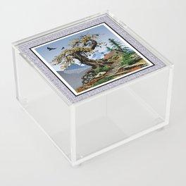 BLUE RIDGE OAK AND KOMA KULSHAN Acrylic Box