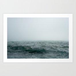 Choppy Seas Art Print
