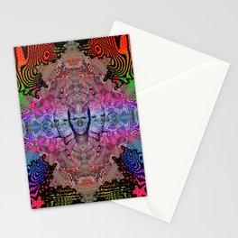FACE TRANCE Stationery Cards