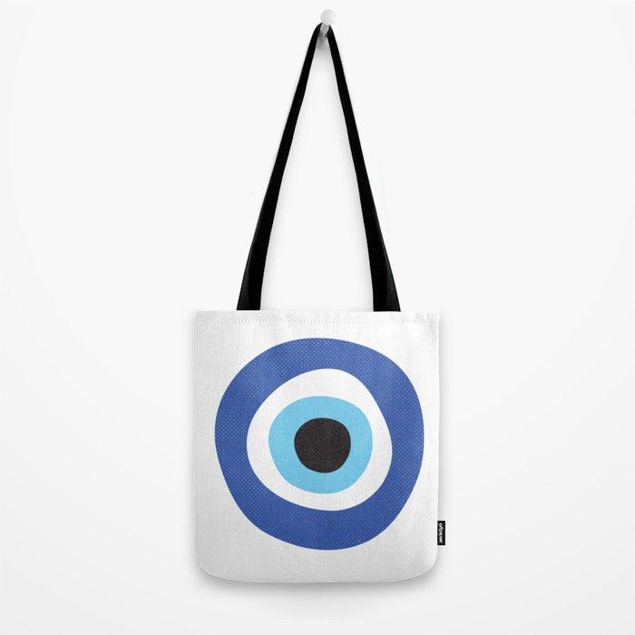 Evi Eye Symbol Tote Bag