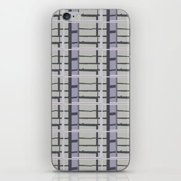 City Road Check iPhone Skin