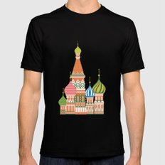 Moscow Mens Fitted Tee Black MEDIUM