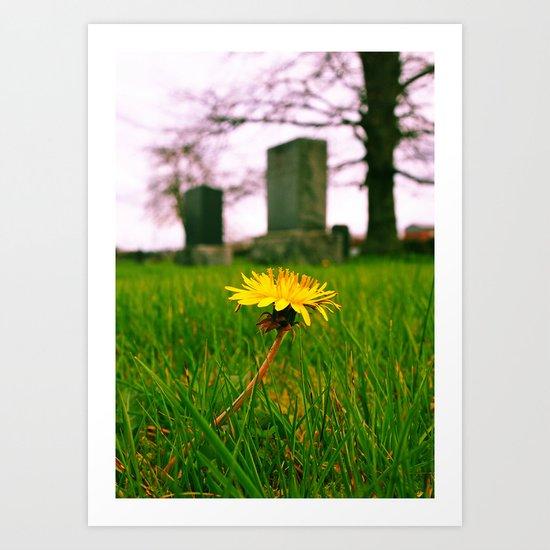 Sign of spring Art Print