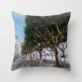 Trapani art 10 Throw Pillow