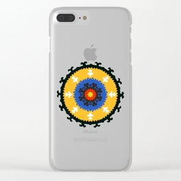 Bold and bright beauty of suzani patterns ver.8 Clear iPhone Case