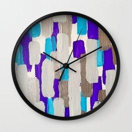 Calm Stripes Wall Clock