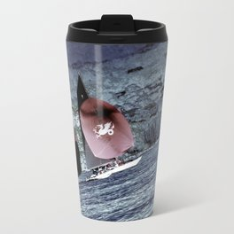 Dragon on the Lake Travel Mug