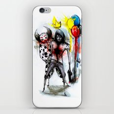 Clown Fun iPhone & iPod Skin