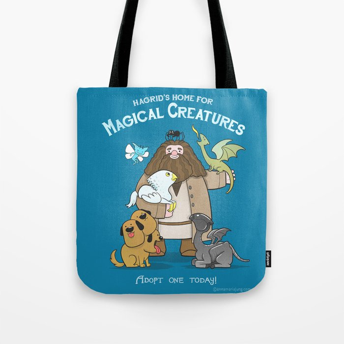 Hagrid's Home for Magical Creatures Tote Bag