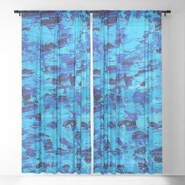Wishy Washy Sheer Curtain