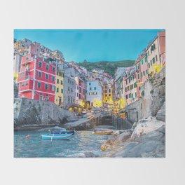 Cinque Terre, Italy Throw Blanket
