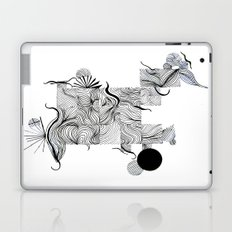 Abstract Line Drawing Laptop & iPad Skin
